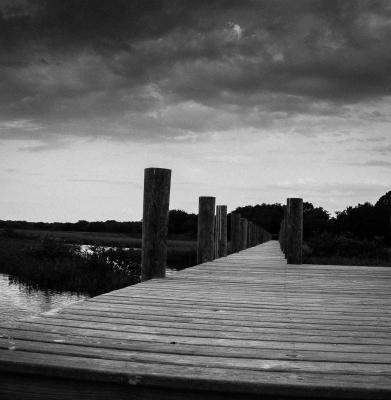 B&W - Nowhere Dock - Homer Gilbert