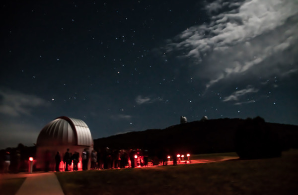 """Star Party, McDonald  Observatory"" - Sandy Gilbert"