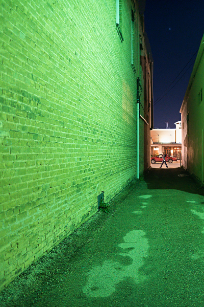 February Alley: Green Alley by Holly Thompson