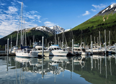 Seward Marina by Sharon Deeny